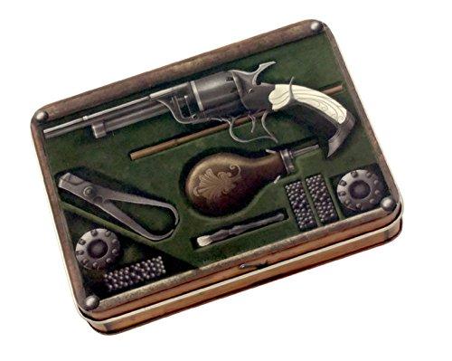 Gunslinger's Kit Metal Dice Case or Dice Box for Storage by SkullSplitter Dice ()