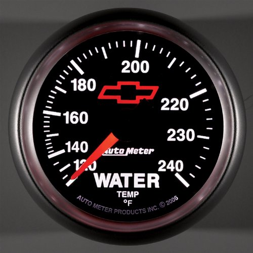 Auto Meter 3632-00406 GM Series Mechanical Water Temperature Gauge by Auto Meter (Image #2)