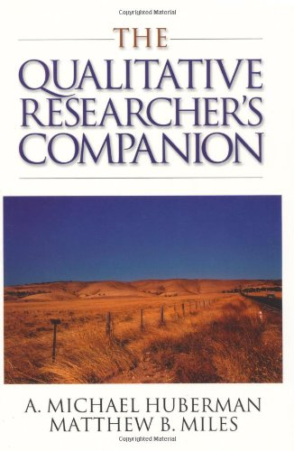 The Qualitative Researcher's Companion: Classic and Contemporary Readings