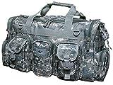 22'' Military Molle Tactical Gear Duffle Range Shoulder Strap Travel Bag Digital Camouflage 2600cu.in.