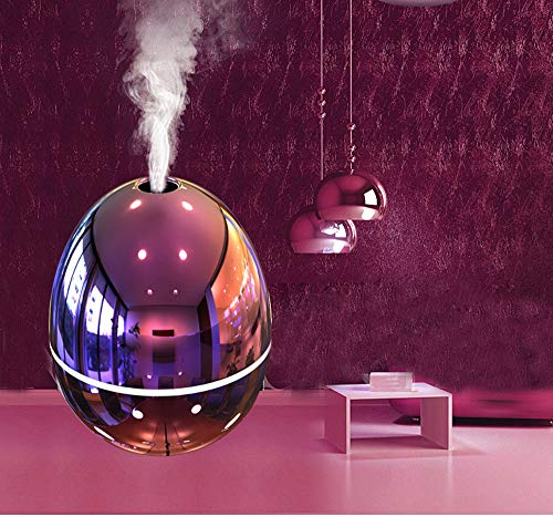 Hot Sale!DEESEE(TM)Egg Shape Portable Mini Home USB Humidifier Purifier Atomizer Air Purifier Diffuser (Pink)