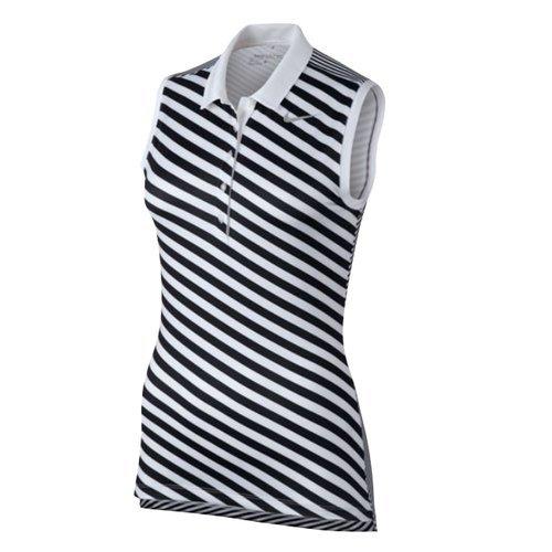 Nike Precision Print SL Camiseta Polo sin Mangas de Golf, Mujer ...