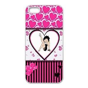 Betty Boop V4Q6Kn Funda LG G 4 4S Funda caja del teléfono celular blanco F2B0DZ único teléfono al caso funda protectora