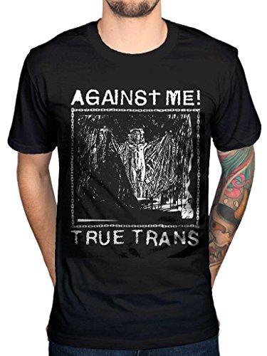 (AWDIP Men's Official Against Me True Trans T-Shirt Soul Rebel Rock Folk Punk)