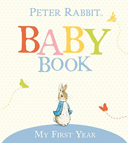 Adoption Memory Book - My First Year: Peter Rabbit Baby Book