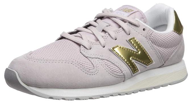 New Balance Women's 520v1 Sneaker Light Cashmere/Classic Gold 5 B US