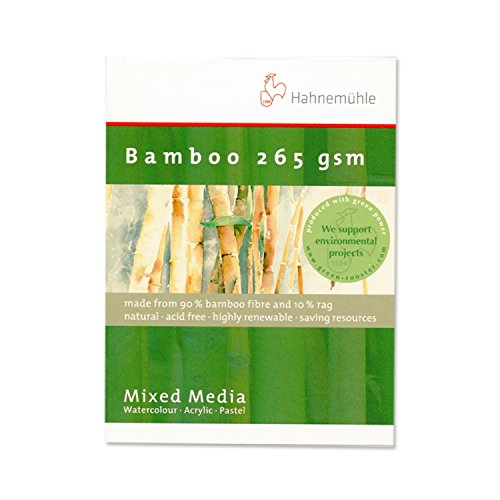 Hahnemuhle Bamboo Mixed Media Pad 3.2''x4.2'' by Bamboo Mixed Media