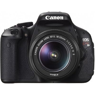 Canon EOS Kiss X5 Digital SLR Camera SLR 18-55 Lens Kit - International Version (No Warranty)