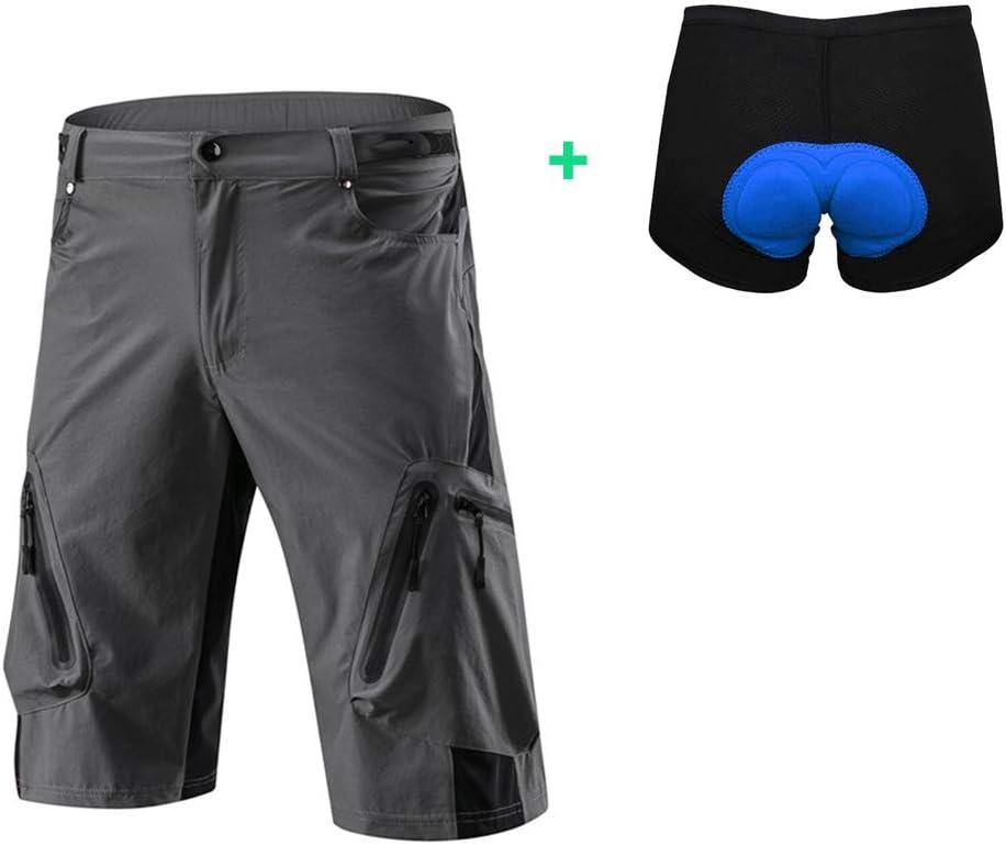 Capplue Damen Herren 3D Unterhose Fahrrad Radlerhose Radhose Gepolsterte Unterw/äsche Atmungsaktiv MTB Shorts