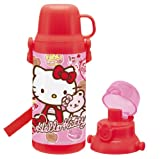 Hello Kitty (bear and ribbon Suites) 2-way correspondence cold water bottle FKDS4 (japan import)