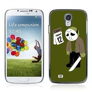 YOYOSHOP [Funny Firday the 13th Spoof] Samsung Galaxy S4 Case