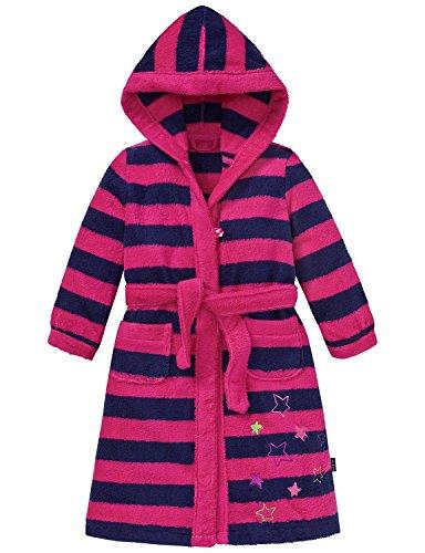 Schiesser Mädchen Bademantel, Rot (Pink 504), 128