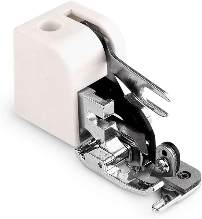 YHSGD Accesorios para máquinas de Coser domésticas Cortadores Laterales Overlock El prensatelas Todos los pies prensatelas de Barra Baja