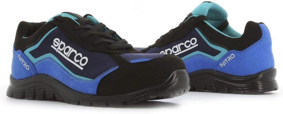 Sparco - Zapatillas Nitro S3 Black/Azul talla 44