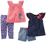 Simple Joys by Carter's Baby Girls Baby 4-Piece