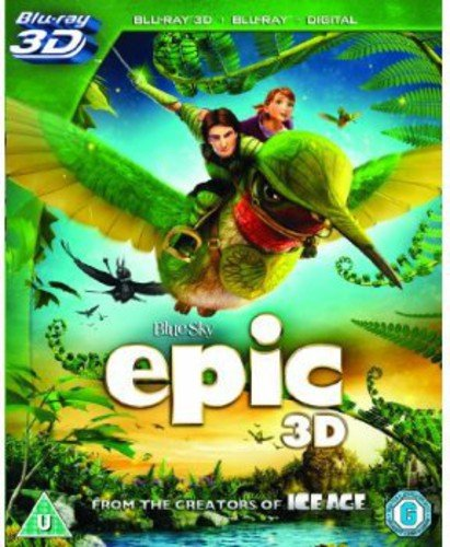 Blu-ray : Epic 3d (Blu-ray)