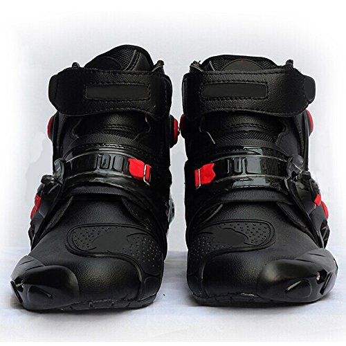 Wotefusi New Men Adult Motorcycle Racing Race Riding Bike Waterproof Gear Short Shoes Boots