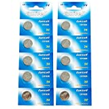 Eunicell CR1620 5009LC Lithium Blister Pack 3V 3 Volt Coin Cell Batteries (10 pcs)
