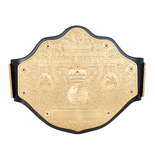 WWE Authentic Wear WCW Heavyweight Championship Replica Title -