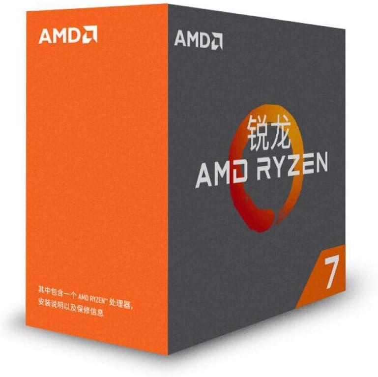 AMD Ryzen R7 1700X CPU Original Processor 8Core 16Threads AM4 3.4GHz TDP95W 20MB Cache 14nm DDR4 Desktop YD170XBCM88AE