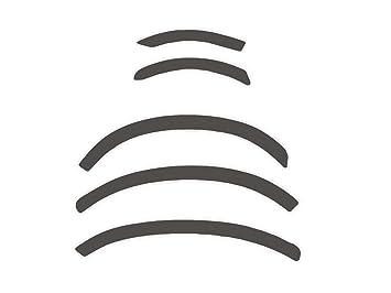 R.S.N. 212 para pintar rueda arcos, Fender tapacubos extensiones, para óxido: Amazon.es: Coche y moto