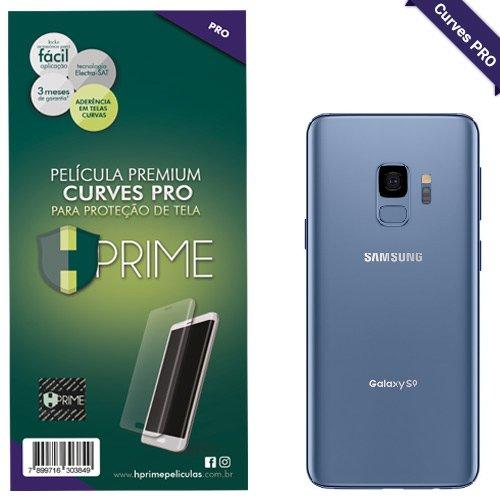 Película para Galaxy S9 (5.8 Pol), HPRIME Curves Pro - Verso [TRASEIRA], Samsung Galaxy S9 (G960)