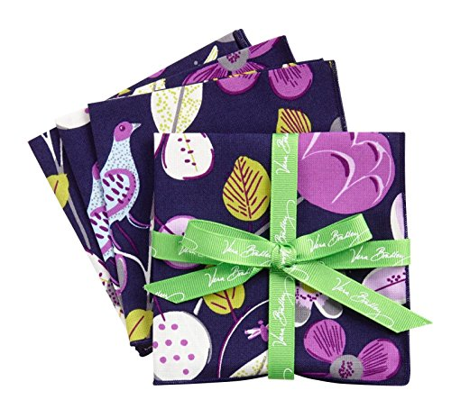 Vera Bradley Cocktail Party Napkins in Floral Nightingale