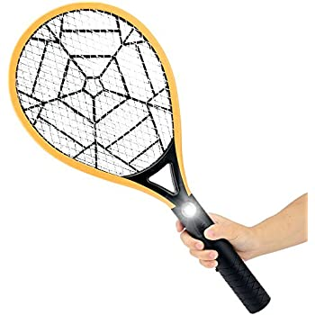 Bug Zapper-Airsspu Electric Fly Swatter,Bug Zapper Racket for Mosquitos, Flies, Wasps-Indoor and Outdoor Use with Flashlight-3000 Volts