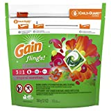 Gain Flings Laundry Detergent Pacs, Tropical Sunrise, 16 Count (Pack of 6) (Packaging May Vary) Review