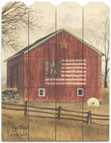 Flag Barn by Billy Jacobs 9x12 Print on