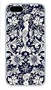 iPhone 6 plus 5.5 Case, Unique Design Protective iPhone 6 plus 5.5 PC Hard White Edge - Mermaid Case Cover