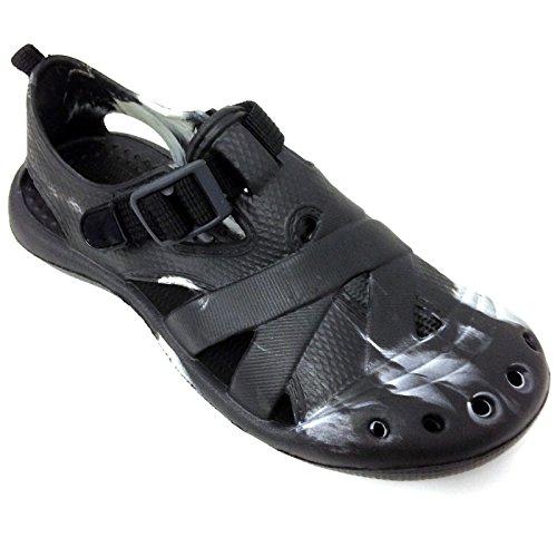 Slippers Grey Garden Black Flip Flats Black flops Sandals Clogs Mens Shoes Water Brown Straps E3A903M x0ZB7q8
