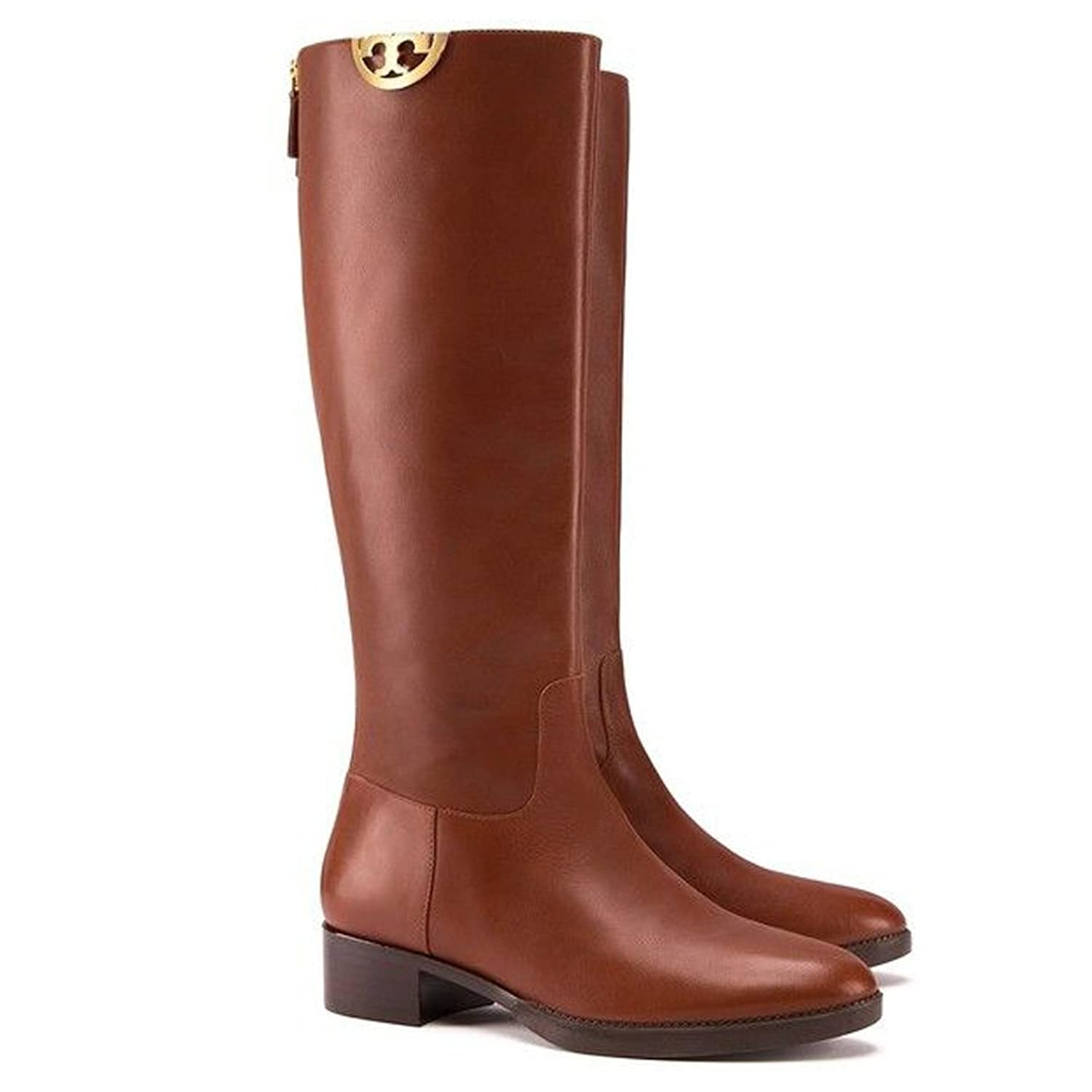 Tory Burch Women's Sidney Leather Boots B01N6L27PD 7 B(M) US