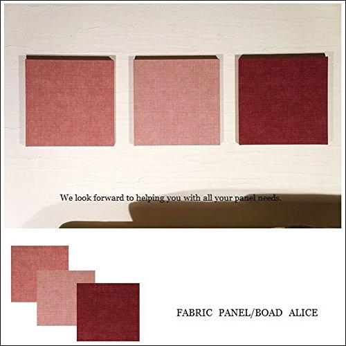 the latest c00e2 24fd7 Alice fabricpanel 30×30×2.5cm (ももいろ) デザイン 17色から ...