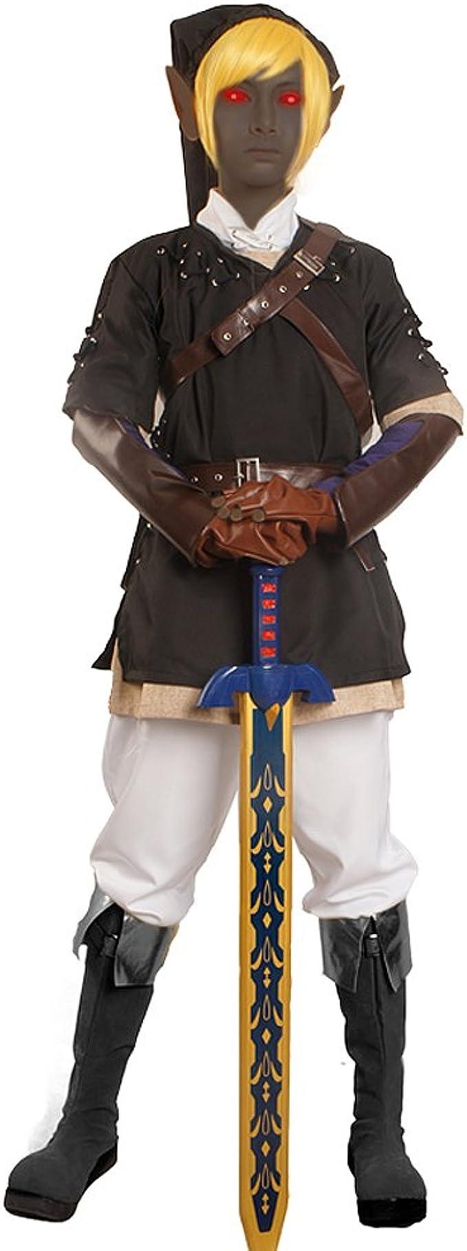 miccostumes Hombre The Legend of Zelda Link de Cosplay disfraz ...