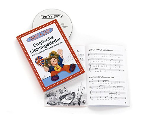 Price comparison product image Englische Lieblingslieder - für Kindergarten und zu Hause [DVD-AUDIO]