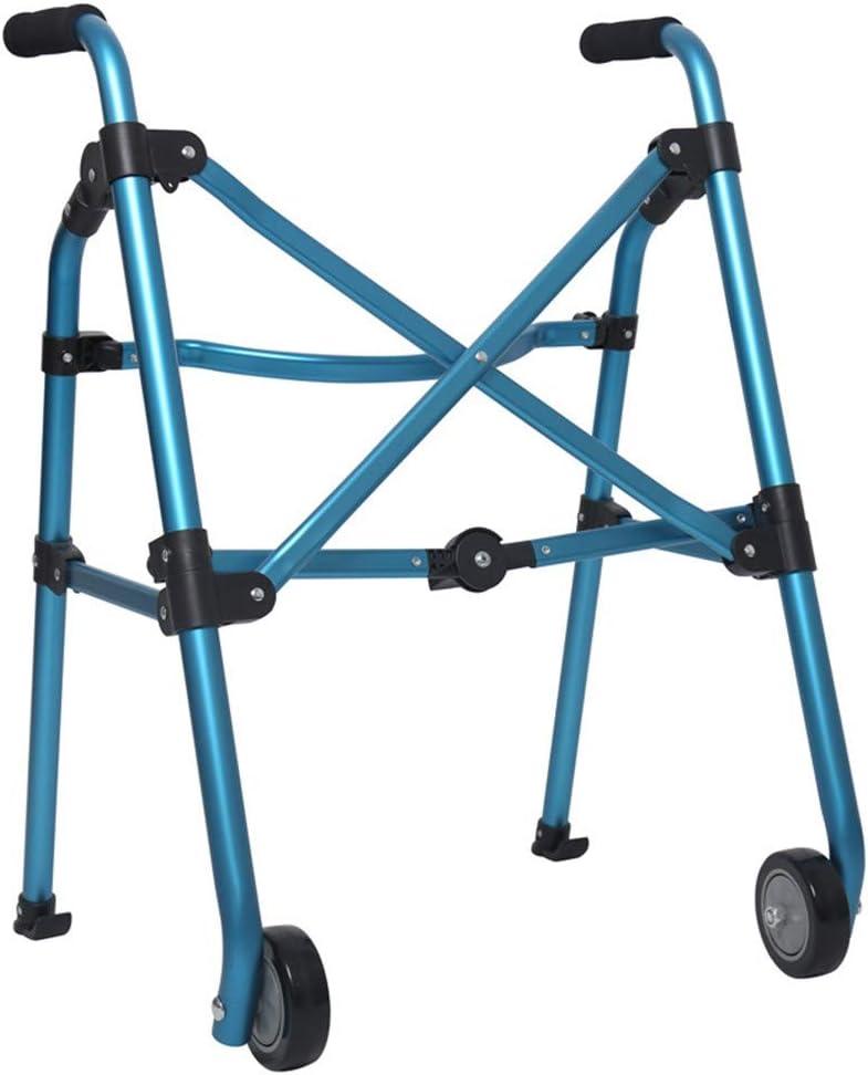 Andador Para Adultos, Andador Ajustable Y Plegable Para Caminar Al Aire Libre Con Ruedas Para Adultos, Ligero Y Duradero, El Andador Proporciona Un Soporte Estable
