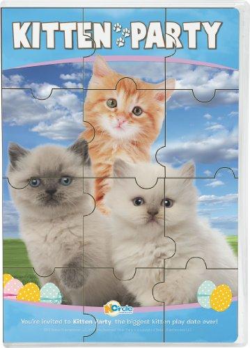 Animal Atlas: Kitten Party W/Puzzle ()