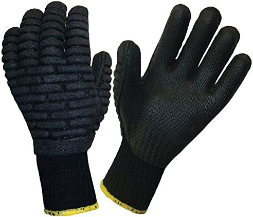 Blackmaxx Anti-Vibration Gloves Size L,XL NEW BLACK LOW PRICE Per Pair