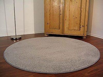 Cottage Teppich Teppich Teppich Hochflor Shaggy Grau Rund in 7 Größen B004SBUQVK Teppiche 50bf01