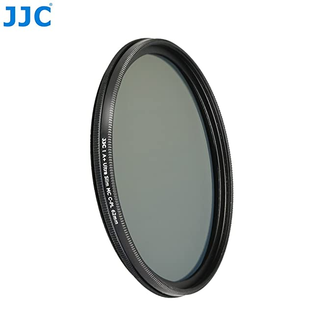 JW 62mm Ultra-Thin Circular Polarizer CPL Filter For For Tamron 18-200mm B011,SP Di 70-300mm A005,B008,A17,AF18-200mm A14,Nikon AF 70-300mm Sony SEL18200LE With JW Cloth