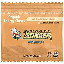 Honey Stinger Organic Energy Chews, Box of 12 Packs - Orange Blossom