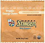 Honey Stinger Organic Energy Chews, Orange Blossom, 1.8 Ounce (Pack of 12)