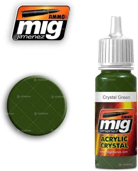MIG jimenez AMMO Peintures Crystal Green