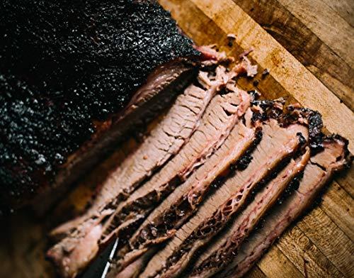 Beef Smoked (Angus Beef Brisket – 4 Rivers Smokehouse Holiday Sliced Brisket – Texas Smoked Beef Whole Brisket – 4 lbs.)