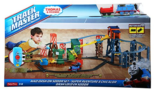 Fisher-Price Thomas and Friends Track Master Remote Controlled Motorized Railway Set ()