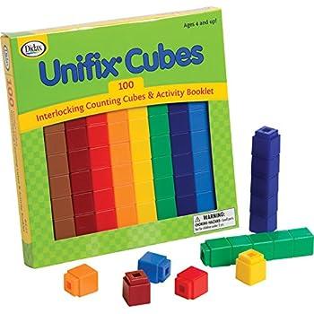 Didax Educational Resources Unifix Cubes Set (100 Pack)