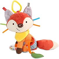 Skip Hop Bandana Buddies Soft Activity Toy, Fox