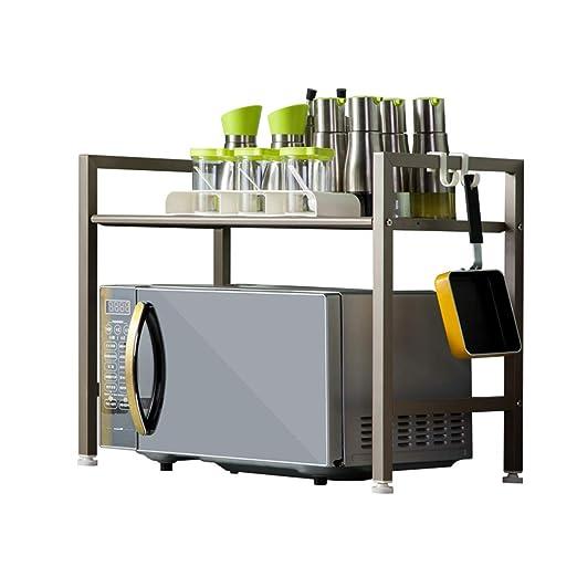 Weq Estante para Impresora, Estante para microondas y Cocina, 2 ...