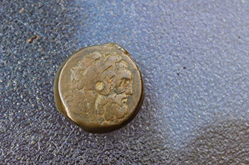 Greek Bronze coin of Ancient Egypt, Ptolemy VI-VIII (179-145 BC)